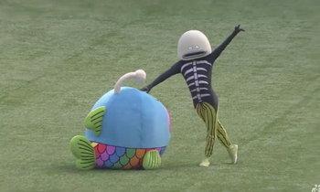 แชร์กันให้ว่อน! มาสคอตเบสบอลญี่ปุ่นสุดแปลกตา (คลิป)