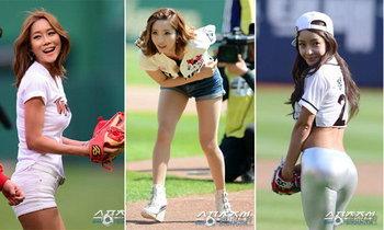 รัดๆ แน่นๆ!! กับเหล่าพริตตี้สาวสวยเบสบอลลีกเกาหลี (อัลบั้ม)