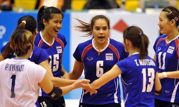 สาวไทยตบชนะโครแอต3เซตรวด ศึกลูกยางโลก