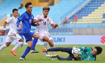 """แชมป์กลุ่ม! """"ช้างศึก"""" ตีเจ๊า """"เมียนมา"""" 1-1 ลิ่วตัดเชือก U19 ชิงแชมป์อาเซียน"""