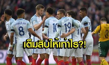 """ประกาศผลสอบ! คะแนนแข้ง """"สิงโตคำราม"""" นัดเปิดบ้านอัด """"ลิธัวเนีย"""" 2-0"""