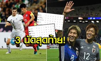 ส่องเส้นทางคัดบอลโลกโซนเอเชีย ใครร่วง(พร้อมเรา), ใครจะลิ่วลุยรัสเซีย?!