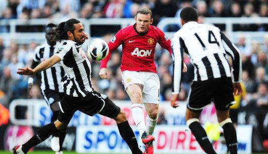 ฟุตบอล : รูนี่ย์คือหนึ่งในยอดนักเตะของยุโรป