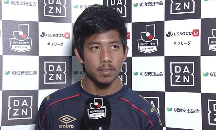 """เปิดใจ! """"จักรกฤษณ์"""" หลังประเดิมสนามตัวจริงบอลญี่ปุ่นครั้งแรก (คลิป)"""