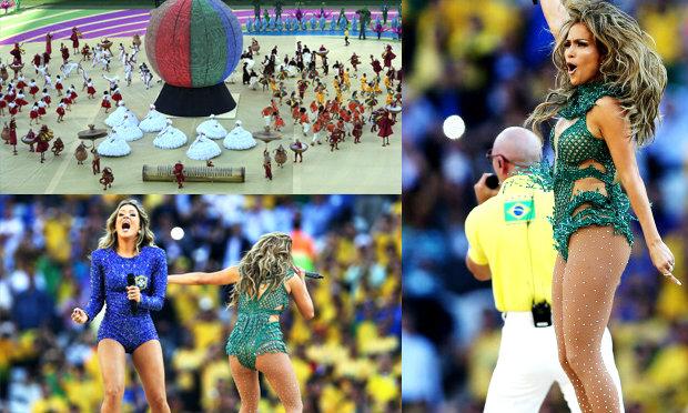 บราซิลเปิดบอลโลก2014 สุดยิ่งใหญ่ แฟนทะลัก6หมื่น