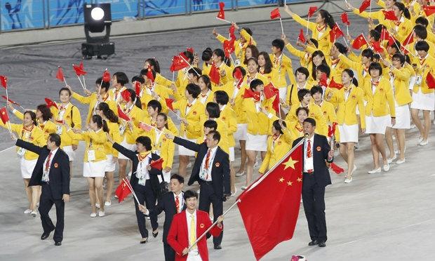 สื่อเผยทัพจีนตั้งเป้าคว้ากว่า 100 ทอง