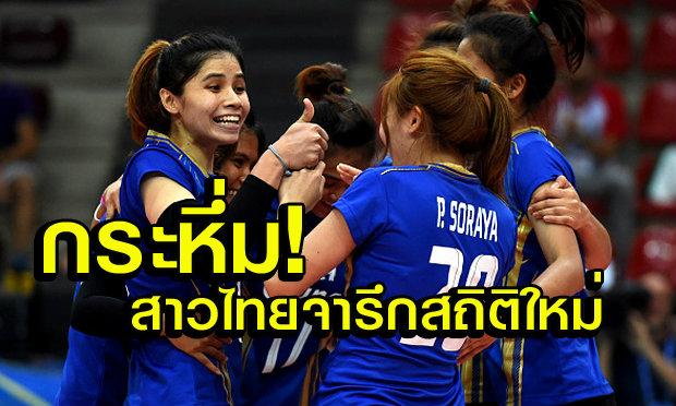 สาวไทยกระหึ่ม! สร้างสถิติใหม่ วอลเลย์บอลหญิงชิงแชมป์โลก