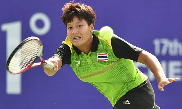 ลักษิกา พ่าย สาวจีน 0-2 เซต ชวดทองเทนนิสหญิงเดี่ยว