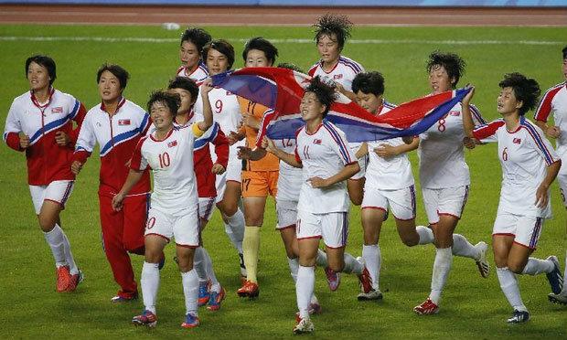 นักเตะสาวโสมแดงถล่มญี่ปุ่นซิวเหรียญทองเอเชี่ยนเกมส์ ตะโกนร้องให้รวมชาติหลังคว้าชัย
