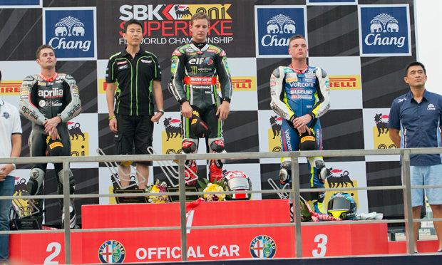 "Thai WSBK ยิ่งใหญ่! ""เรีย"" เหมาแชมป์รุ่น 1000 cc.ที่ บุรีรัมย์"
