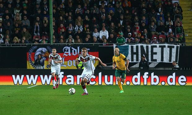 เยอรมันหวิดแย่! ไล่เจ๊าออสเตรเลีย 2-2 เกมลับแข้ง