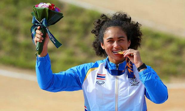 """""""อแมนดา"""" เตรียมแข่งขัน BMX เก็บคะแนนโอลิมปิกที่อังกฤษ"""