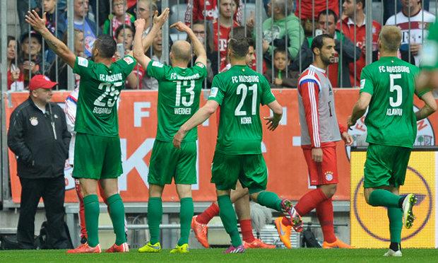 """เรน่าโดนแดง!""""โบบาดิญา""""ซัดโทนเอาส์บวร์กเฉือนเสือใต้ 1-0"""