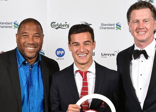 คูตินโญ่คว้ารางวัลผู้เล่นยอดเยี่ยมแห่งปีของหงส์แดง