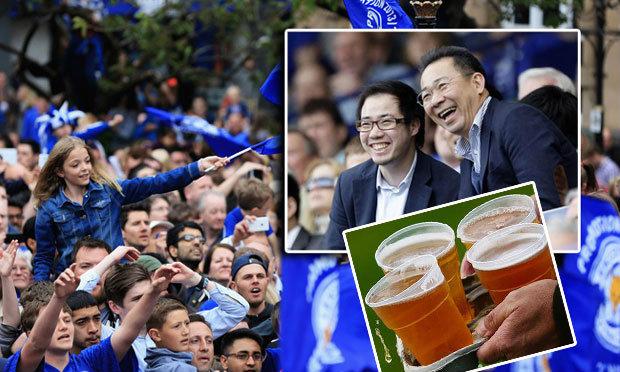 """ต้องฉลอง! เจ้าของไทยเลี้ยงเบียร์แฟน """"จิ้งจอก"""" หลังรอดตกชั้น"""