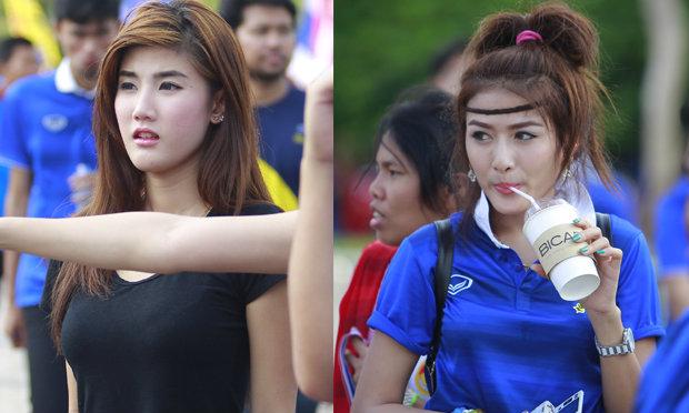 เก็บตกภาพเหล่าบรรดาสาวสวยนัดไทย-เวียดนาม