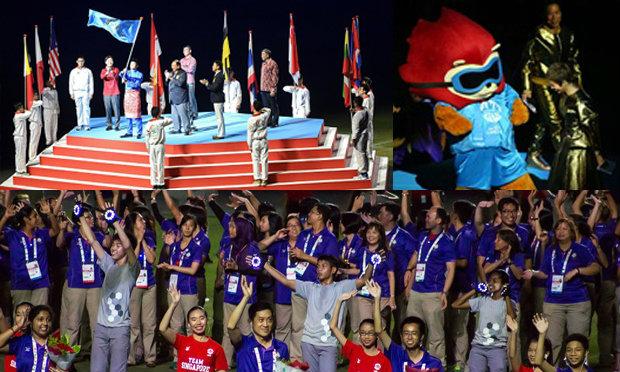 ประมวลภาพพิธีปิดกีฬาซีเกมส์ ครั้งที่ 28
