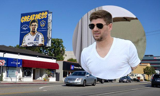เจอร์ราร์ด ถึง LA แฟนบอลแห่ต้อนรับอย่างอบอุ่น