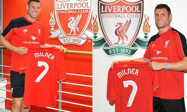 """""""มิลเนอร์"""" เปิดตัวแข้งใหม่หงส์แดงสวมเสื้อเบอร์ 7"""