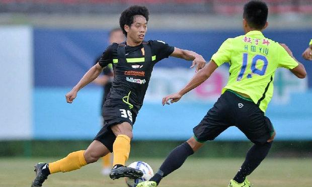 ′บางกอกกล๊าส′ลับแข้งเชือดทีมจากฮ่องกง2-0