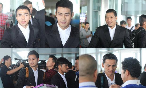 ประมวลภาพแฟนบอลไทย ส่งทีมช้างศึก บินลัดฟ้าลุยเวียดนาม