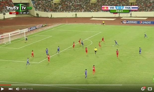 เพื่อความสะใจ! ดูอีกครั้งกับ 3 ประตูของไทยถล่มเวียดนาม3-0