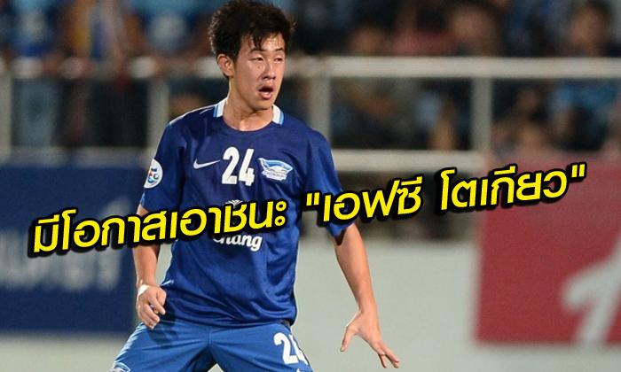 """""""ยิม"""" ยก เอฟซี โตเกียว แกร่งจริง! แต่เชื่อ ฉลามชล มีโอกาสชนะ"""