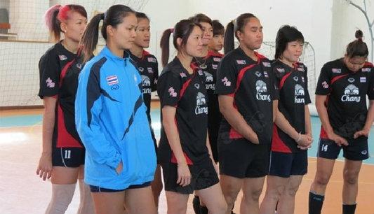 ทีมตบสาวไทย พร้อมสอยกิมจิประเดิมชิงแชมป์เอเชีย