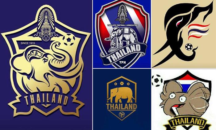 """งานเฉียบก็มา งานฮาก็มี! รวมไอเดีย """"โลโก้ทีมชาติไทย"""" จากทางบ้าน (อัลบั้ม)"""