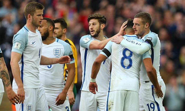 """""""เดโฟ, วาร์ดี้"""" คนละตุง! """"อังกฤษ"""" เชือด """"ลิธัวเนีย"""" 2-0 นำฝูงกลุ่มเอฟ"""