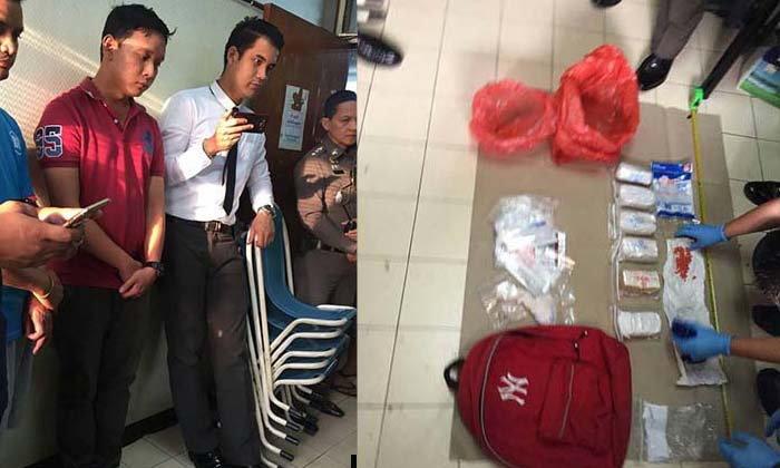 รวบตำรวจค้ายาฯ คาโรงพัก! พบยาบ้า 13,000 เม็ด ยาไอซ์ ยาเค ซุกตู้ใน สน.
